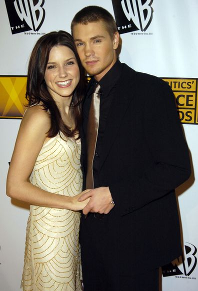Sophia Bush and Chad Michael Murray at the Annual Critics Choice Awards in 2005.