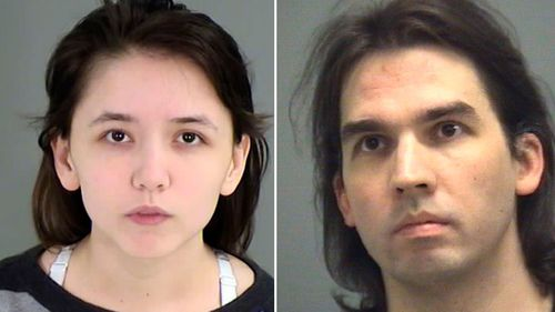 This photo provided by the Wake County Sheriff's office shows Katie Pladl (left) and her father Steven (right). (AAP)