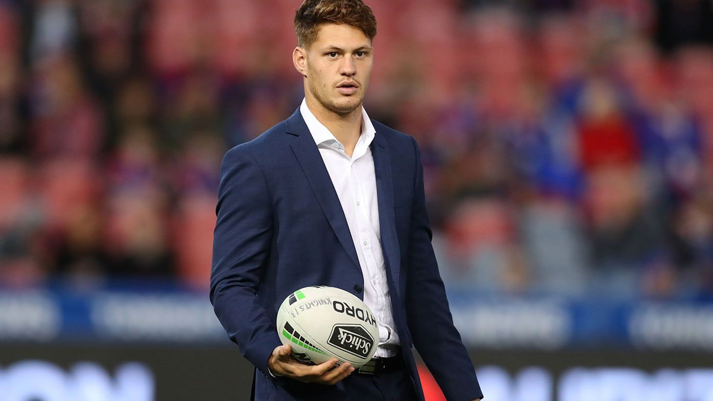 NRL: Kalyn Ponga out for Knights with calf injury