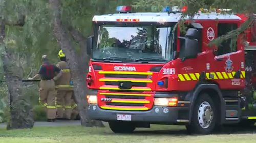 Firefighters found the body at 6.30am. (9NEWS)