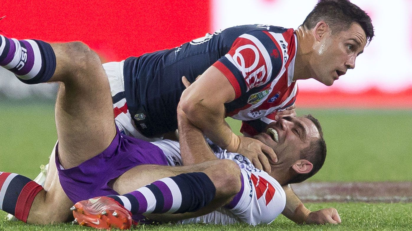 Cooper Cronk speaks out on 'bad blood' claims in Cameron Smith relationship