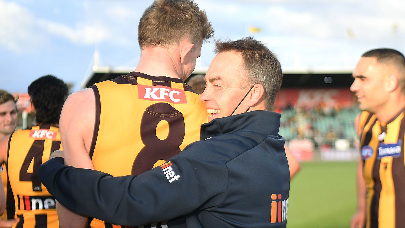 Alastair Clarkson continues to make mockery of Hawks' 'peculiar' coaching succession plan