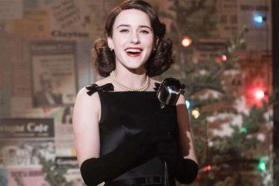 Rachel Brosnahan in 'The Marvelous Mrs. Maisel'.