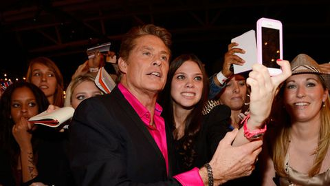Not Hassel'd: David Hasselhoff forgives <i>Celebrity Apprentice</i> team-mates' harsh words