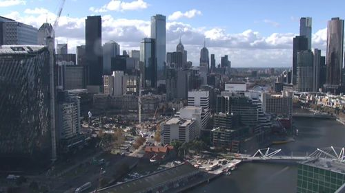 Victorians are set to shiver through some chilly conditions with the city hitting a low of just 7C tomorrow. Picture: 9NEWS