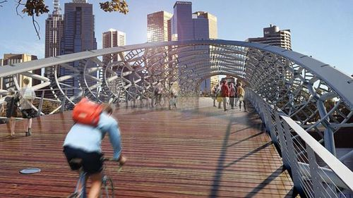 YOUR SAY: Landmark $30m Yarra River bridge plan to link Birrarung Marr to boat sheds