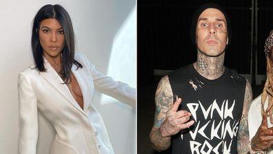 Kourtney Kardashian and Travis Barker reportedly dating.