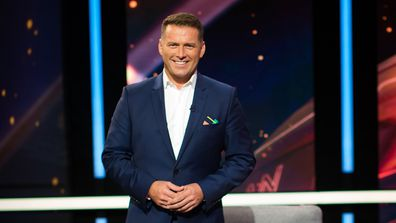 Karl Stefanovic returns to host season two of This Time Next Year.