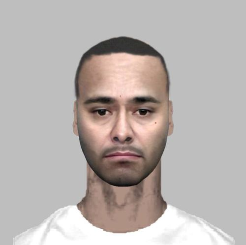 Police have released a computer-generated image of a man who may be able to assist with inquiries into an alleged extortion attempt in Sydney's Strathfield.