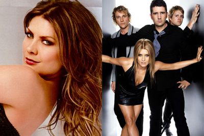 Natalie still looked like Izzy from <i>Neighbours</i> when she sang with the Rogue Traders...
