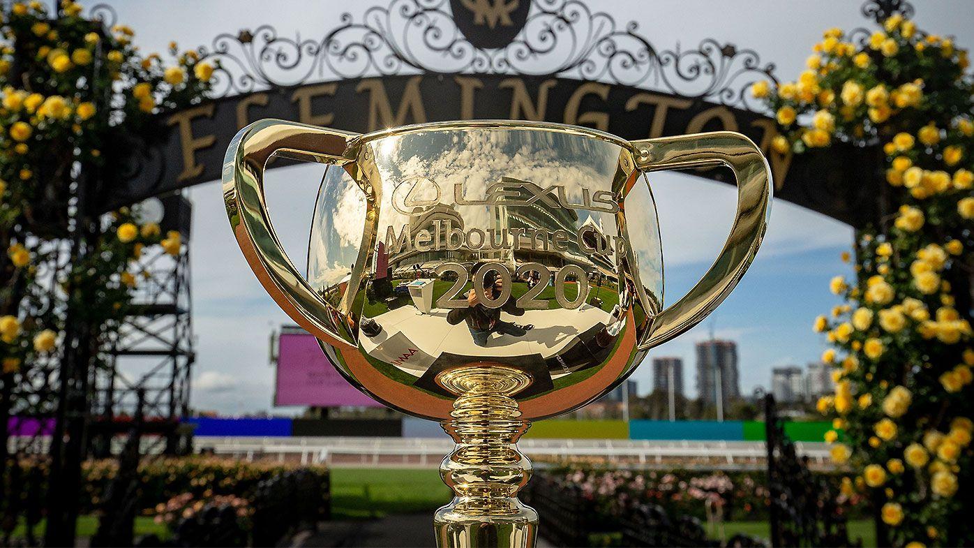 2020 Melbourne Cup trophy