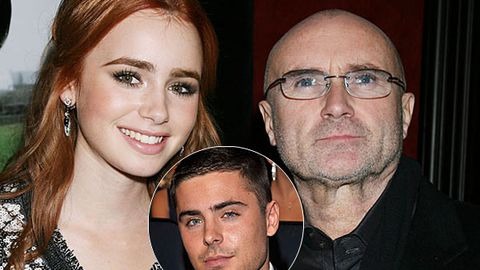 Zac Efron is dating Phil Collins' hot daughter?