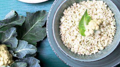 Pre-riced cauliflower