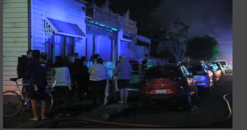 House nearly destroyed in Melbourne fire overnight
