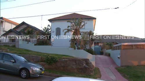 The house that the man allegedly broke into. (9NEWS)