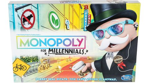 Monopoly for Millennials takes a swipe at a whole generation.