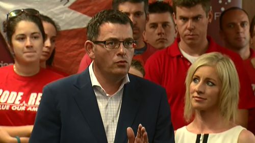 Daniel Andrews had promised to sack the board of Ambulance Victoria if he won the election. (9NEWS)