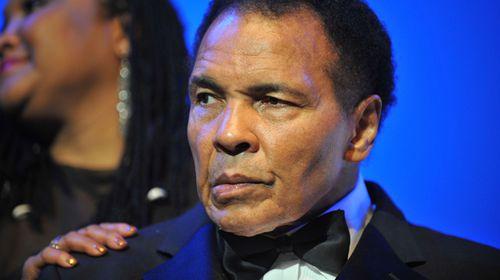Muhammad Ali hospitalised with mild pneumonia