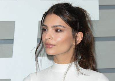 <p>Luminescent lit-from-within skin with shimmering, golden cheeks works perfectly with loose, romantic hair swept up into a casual pony.</p> Image: Getty.
