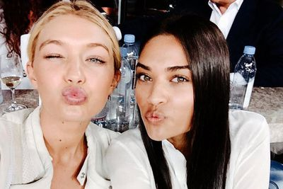 <i>Sports Illustrated</i>'s Gigi Hadid had a pout-off with Aussie model Shanina Shaik at the US Open.<br/><br/>Gigi, 19, and Shanina, 23, have more than just beauty in common. Gigi used to date Aussie Cody Simpson, who's BFFs with Justin Bieber. Shanina partied on Bieber's yacht in Ibiza earlier this month. Small world!<br/><br/>@gigihadid: With this beauty @gigihadid at the @usopen @imgmodels - So good to hang with this mega babe @shaninamshaik at the US Open opening night tonight. Thanks for having us @emirates @eli_miz xx @imgmodels.<br/><br/>Keep scrolling for our fave A-list Insta-braggers...