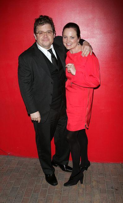 Patton Oswalt and Michelle McNamara