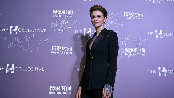 Ruby Rose - model/actress and mantra user. Image: Getty.