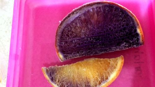 Mystery deepens after first tests on Chinchilla mum's purple oranges