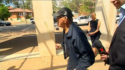 Serial burglar Hamzigo Nuhic, 78, today had a bid thrown out of court for his criminal charges to be dropped on the basis of his mental health (Supplied).