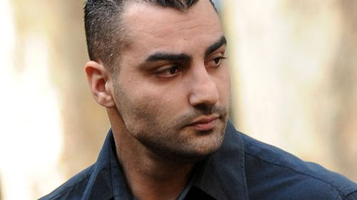 """Mahmoud """"Mick"""" Hawi arriving at Central Local Court in 2009. (AAP)"""