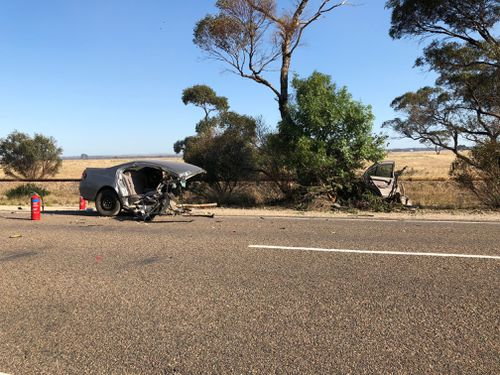 Emergency crews were called to the scene about 5.30am. (9NEWS)