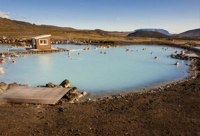 Swap Iceland's Blue Lagoon for Myvatn Nature Baths
