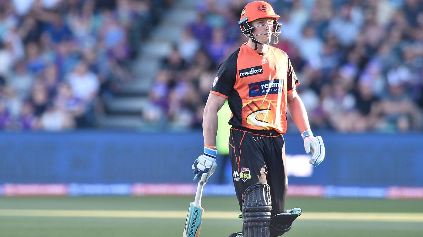 Cameron Bancroft was out for 2