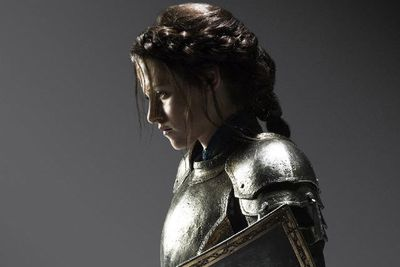Sure, she spends the first part of the film being a damsel in distress, but once she gets going, she's like Joan of Arc incarnate. On the next slide, check out our interview with Kristen and her director fling Rupert Sanders before the scandal hit the headlines ...