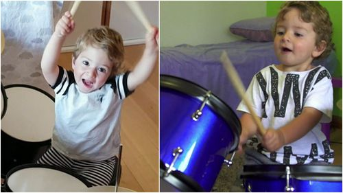 Matt is a self-taught music sensation. (9NEWS)
