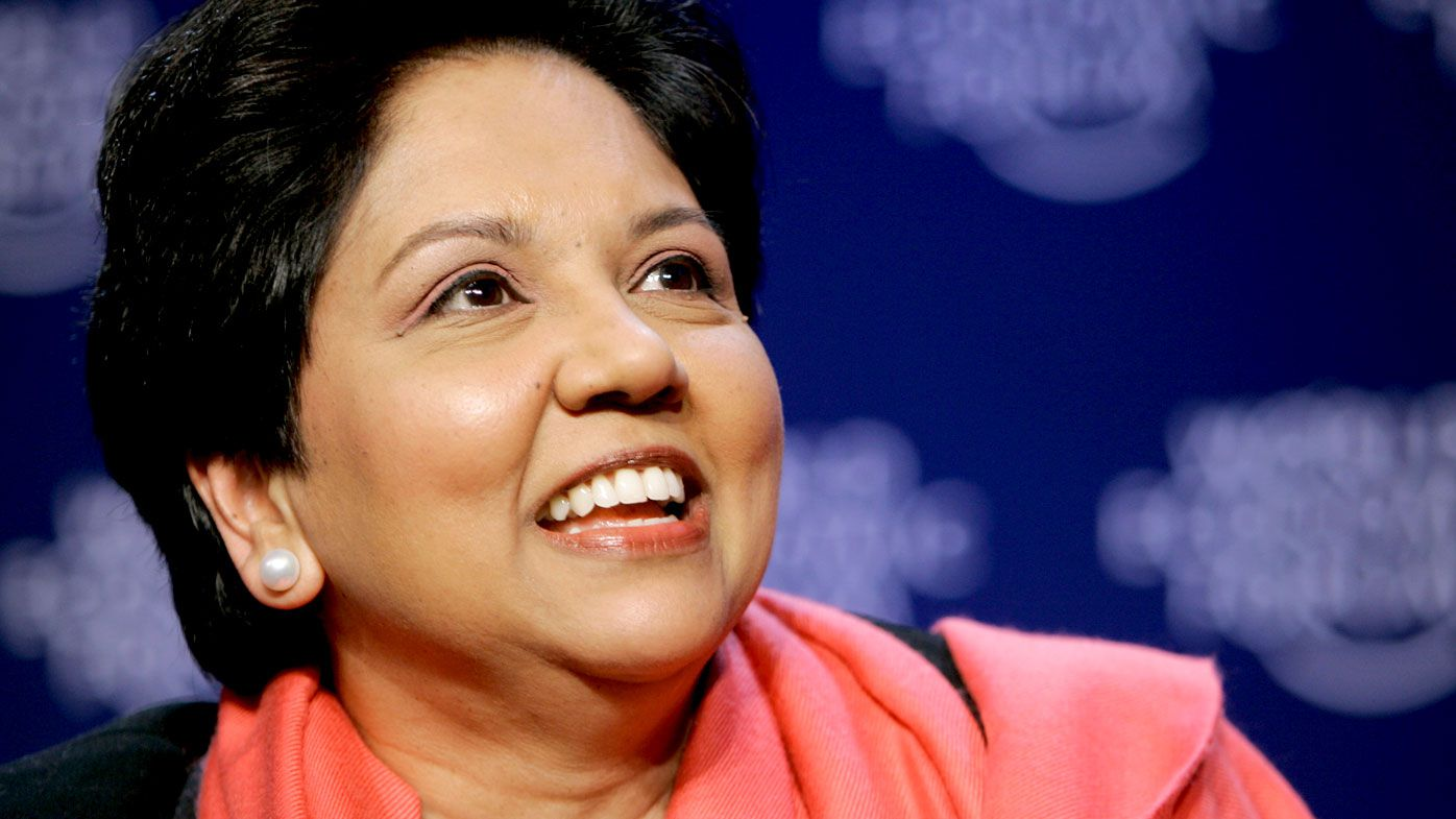 A file photograph of PepsiCo chairwoman and CEO Indra Nooyi. (AAP)