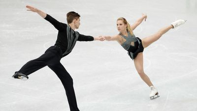 HARLEY WINDSOR AND EKATERINA ALEXANDROVSKAYA (figure skating)