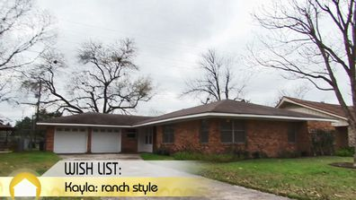 A ranch style home on House Hunters.
