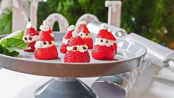 Be Fit Food strawberry santa