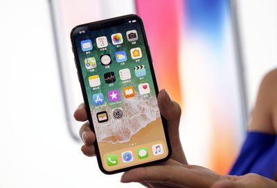 10. iPhone X (2017)