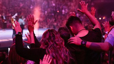 Most Hillsong church services draw hundreds, if not thousands, of congregants.