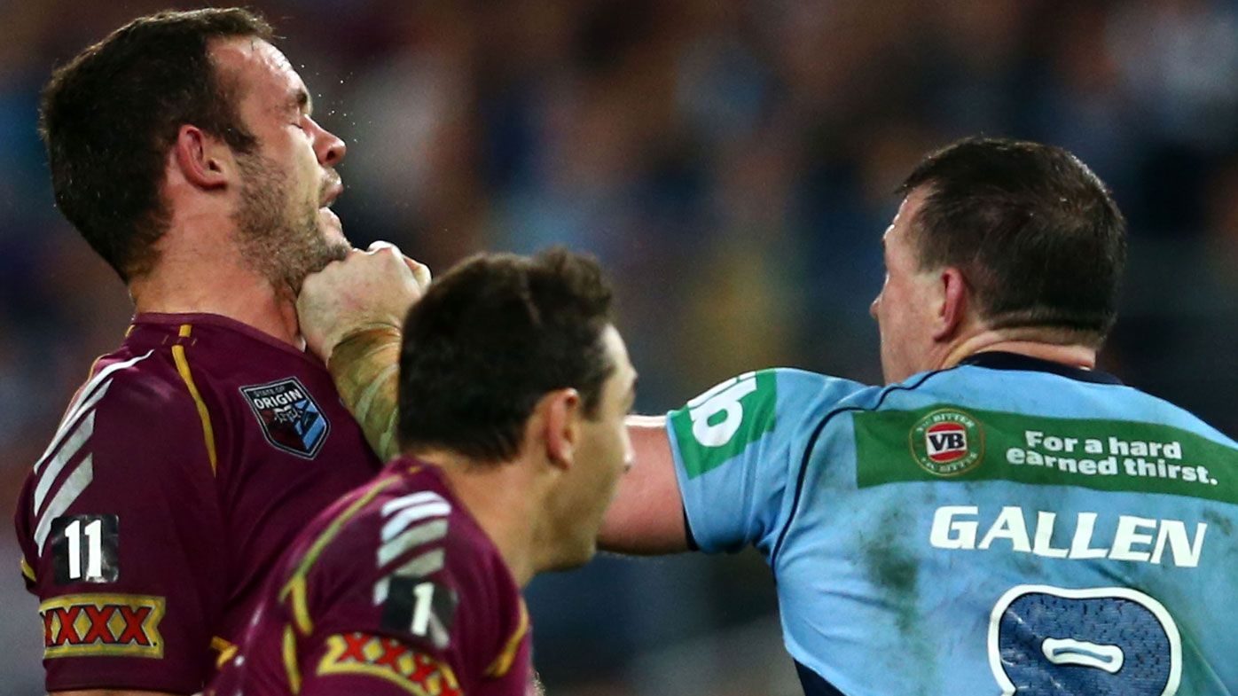 EXCLUSIVE: Paul Gallen explains Nate Myles Origin punch and its surprise winners