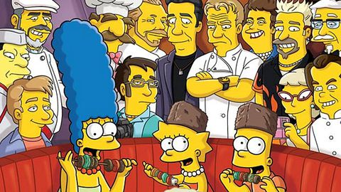 The Simpsons take on Gordon Ramsay, Anthony Bourdain and more celebrity chefs