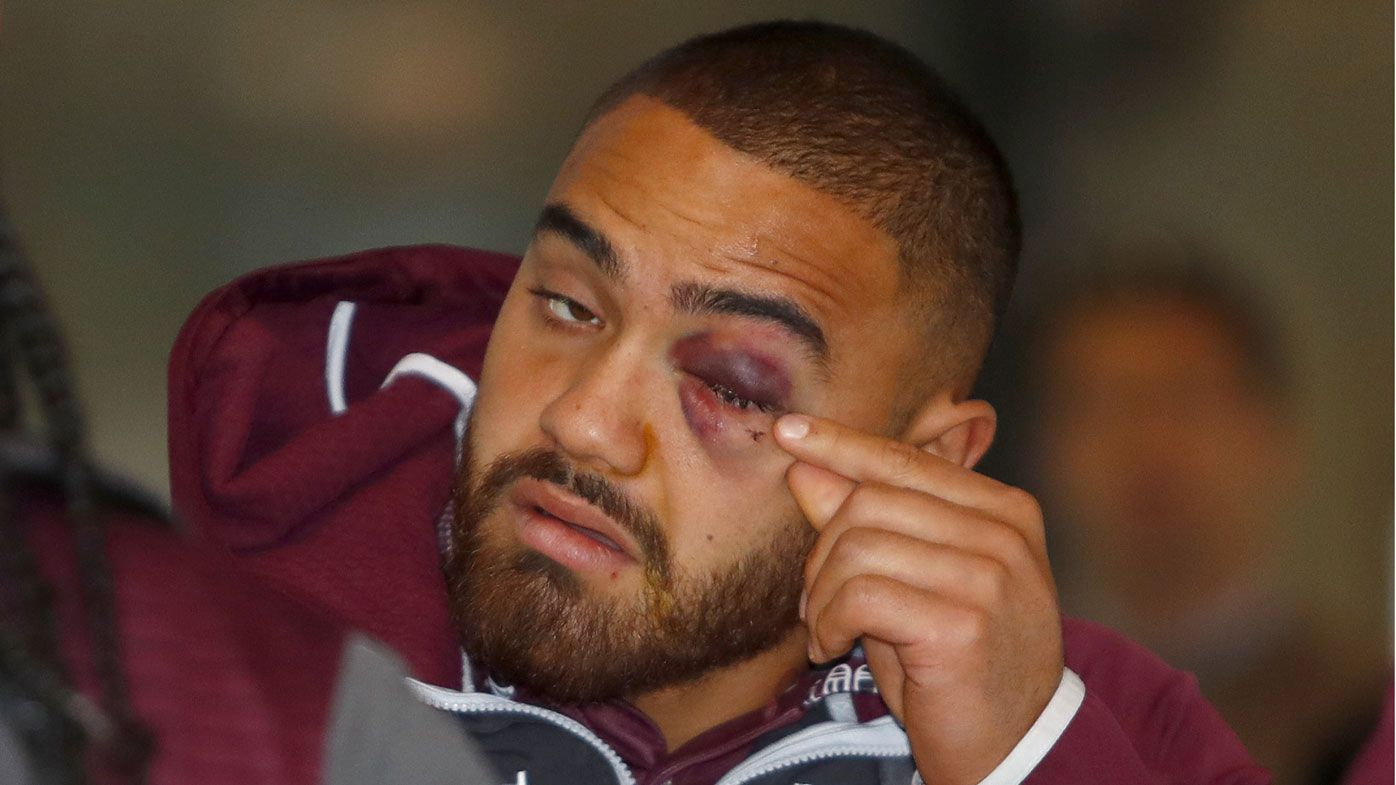 Luke Lewis says Dylan Walker deserved to be punched for baiting Curtis Scott