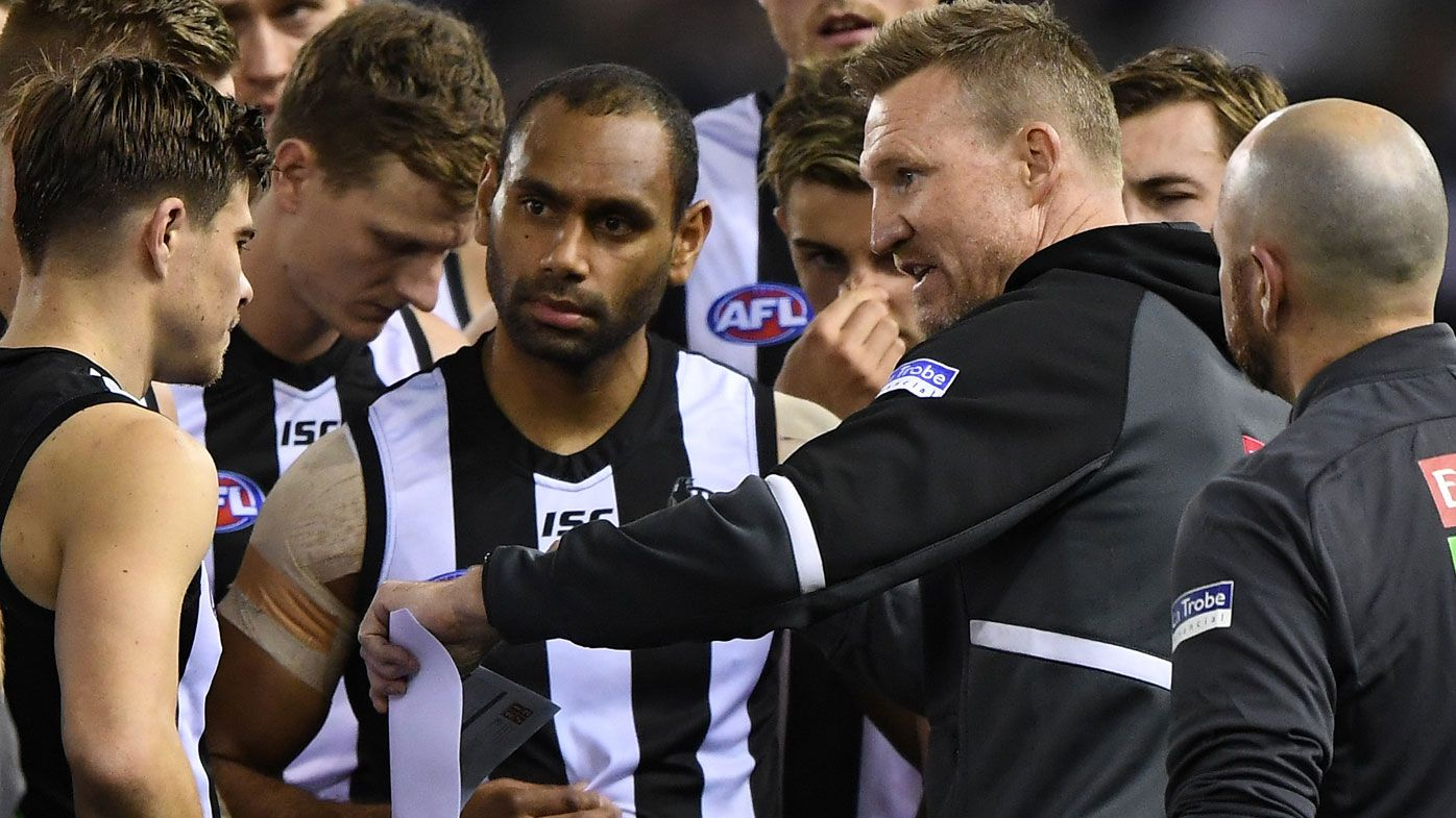 Nathan Buckley torches 'bloody embarrassed' Pies after AFL shocker