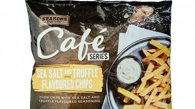 Sea Salt and Truffle Flavoured Chips