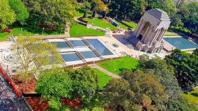 New-look Sydney war memorial opens for key anniversary