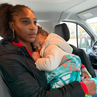 Serena opens up about being a working mum