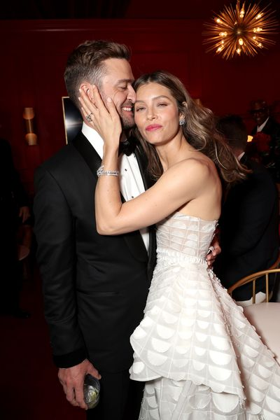 The two couldn't keep their hands off each other at the 2018 Emmy Awards where Biel was nominated for Lead Actress for her role in TV series <em>The Sinner.</em>