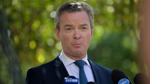 Christopher Pyne says the delay is to allow the House to deal with same-sex marriage legislation. (AAP)