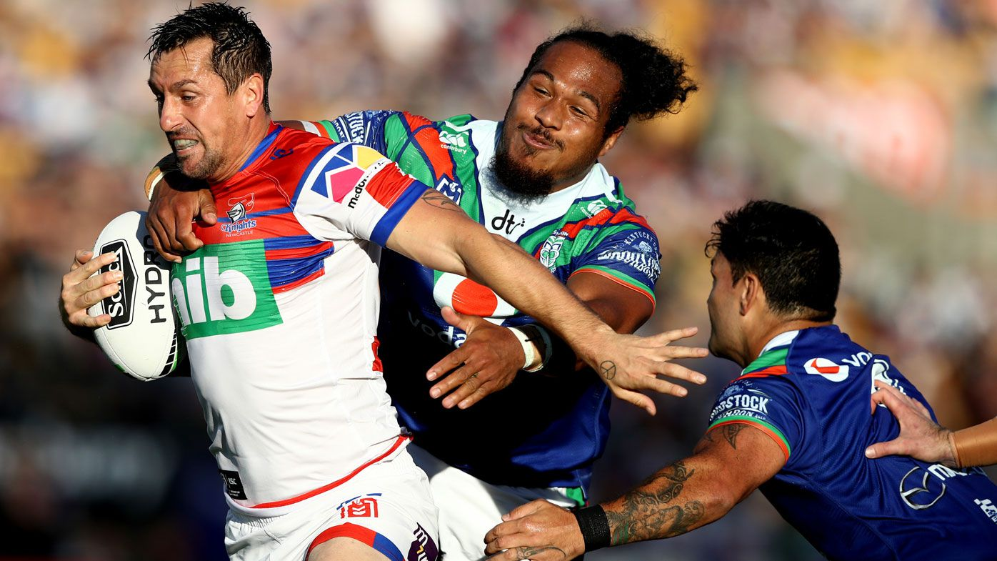 Mitchell Pearce guides methodical Knights to beat Warriors